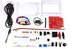 Image 2 - DIY kit Us stecker 110V DIY LM317 Kit mit fall