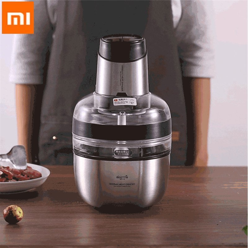 Meat-Grinder Xiaomi Automatic-Triture-Machine Stainless-Steel Foodblender Dem-Jr01