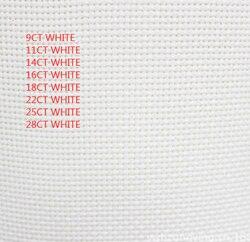 22ct evenweave 25ct cross stitch canvas cloth embroidery fabric white color, 28ct evenweave