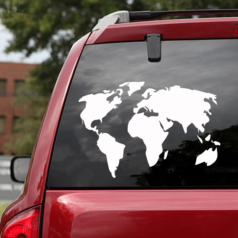 Grebest Car Sticker External Decoration Sticker Car Sticker Compass Pattern Engine Cover Decal Auto Door Hood Decoration Blue