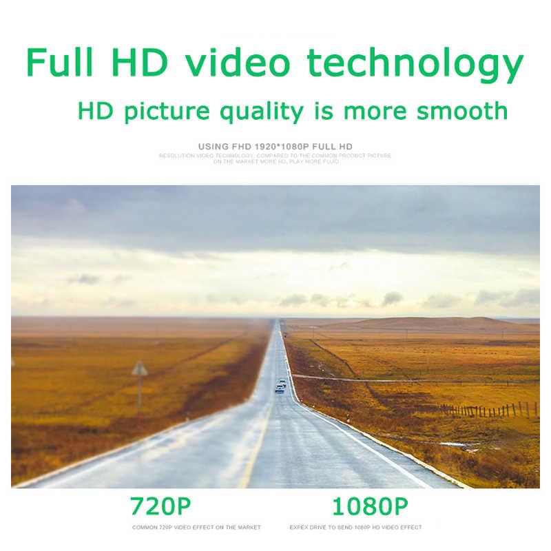 Coche DVR 1080p FHD ADAS Dash Cam 170 ° Gran Angular USB grabadora de vídeo Digital visión nocturna Mini portátil para Android Car Player