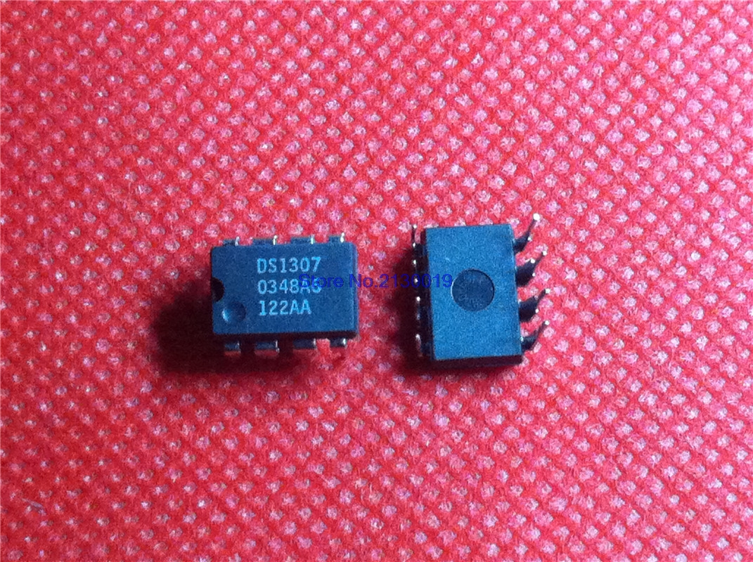 10pcs/lot DS1307N DS1307 DIP-8 In Stock