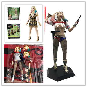 14cm SHF DC Suicide Squad Hally Quinn Action Figures Toys Doll for Halloween Christmas Gift