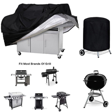 Bbq-Cover Weber Heavy-Duty Waterproof Rain-Protective Round Outdoor Black Dust