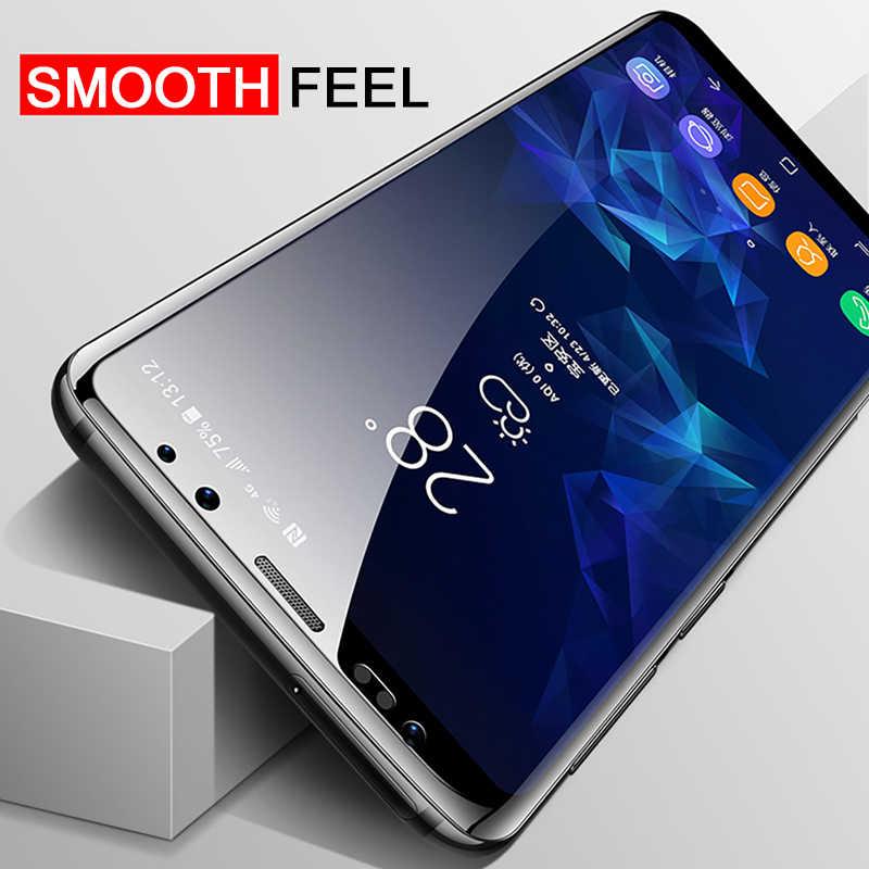 2 adet hidrojel koruyucu Film Samsung Galaxy not için 10 8 9 artı ekran koruyucu için Samsung S10 S20 Ultra s8 S9 A50 A51 A71