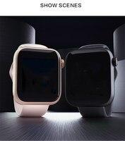 2020 nowy inteligentny zegarek karta Sim Bluetooth IOS android zegarek telefon zegarek z kamerą odtwarzacz muzyczny sport Smartwatch wodoodporna bransoletka w Inteligentne zegarki od Elektronika użytkowa na