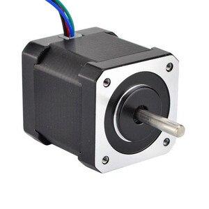 Шаговый двигатель Nema 17 Мотор 48 мм 59Ncm 2A 17HS19-2004S1 шаговый мотор 4-свинец с 1 м кабель для станка с ЧПУ 3D-принтеры мотор Пасо-Пасо