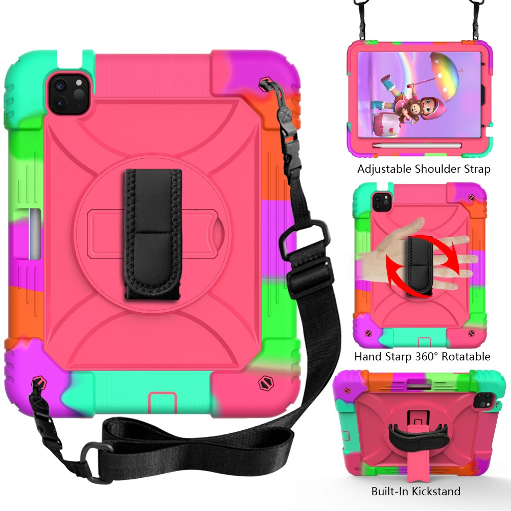 Case Shockproof For Case 10.9 3 2020 Air Hybird Layers Kids for Armor iPad Tablet iPad 4
