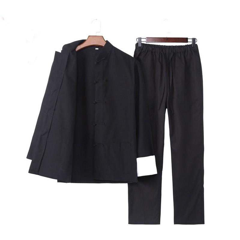 Комплект одежды Umorden с длинным рукавом, Брюс Ли Вин Чун Тай Чи, китайский костюм Тан, Одежда Кунг-фу, Униформа, пальто, брюки для мужчин