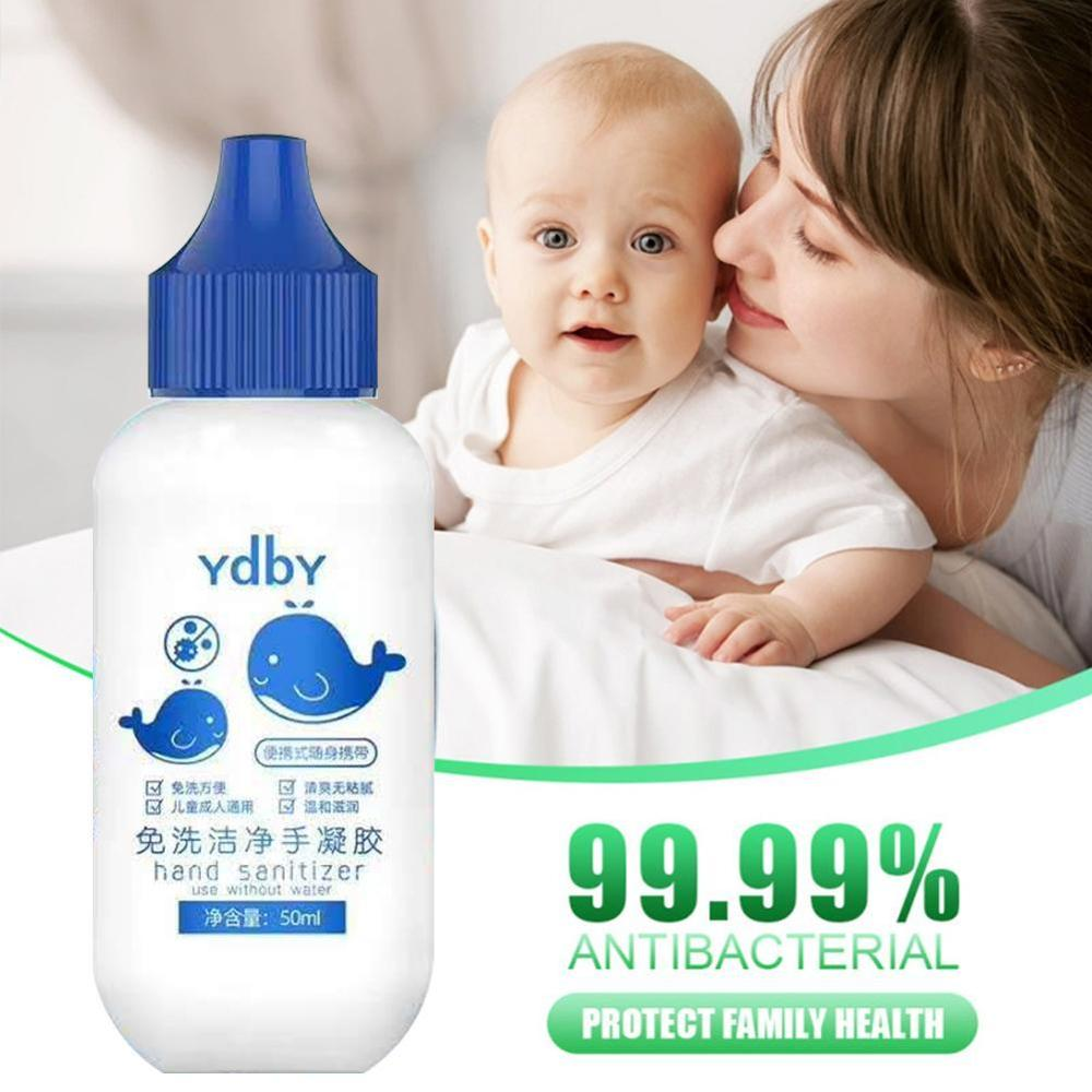 50ml Disposable Disinfection Gel Hand Sanitizer Antibacterial Disposable Quick-Dry Wipe Out Bacteria Hand Sanitizer Gel