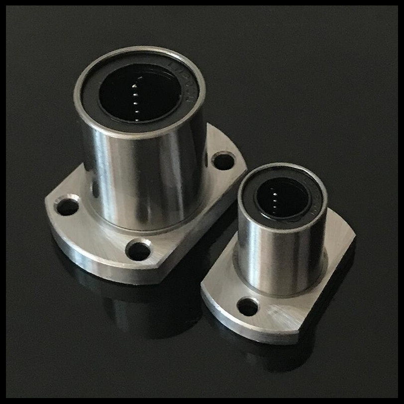 LMH6UU,LMH8UU,LMH10UU,LMH12UU,LMH16UU,LMH20UU,LMH25UU,LMH30UU  H Flange Type Linear Motion Bearing 3D Printer Linear Rod Part