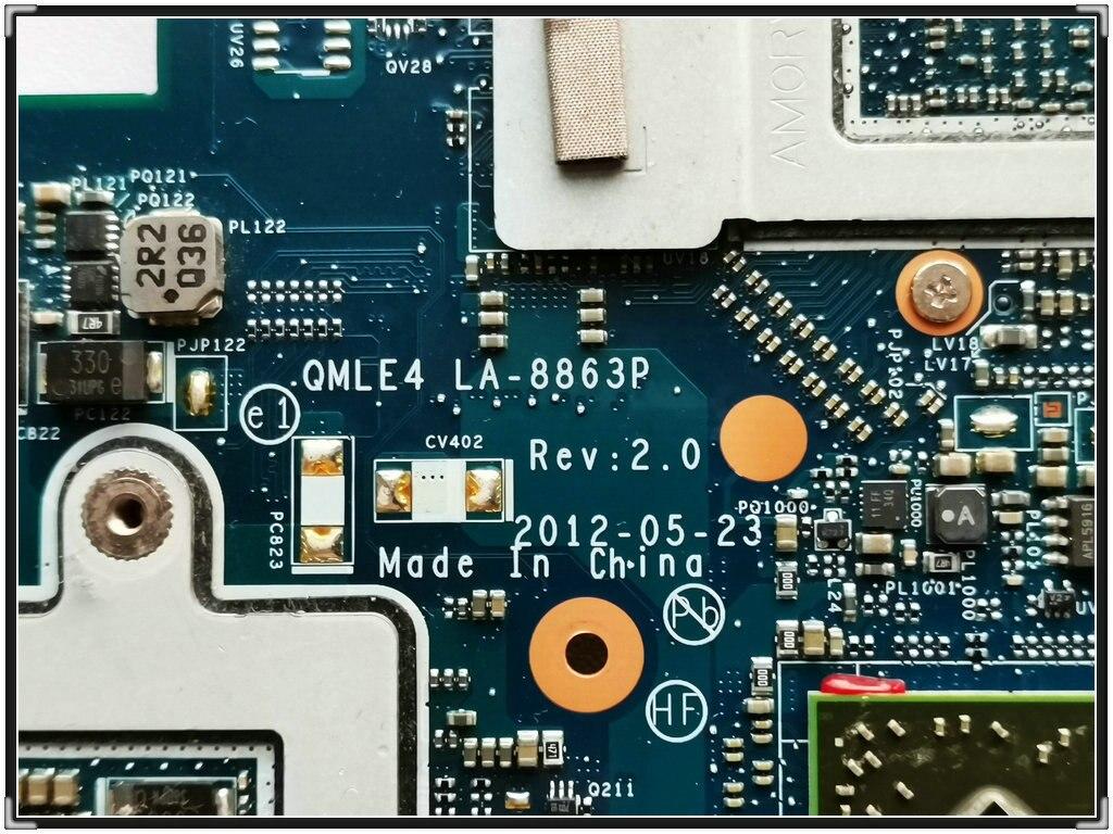LA-8863P Para SAMSUNG NP355V5C 355V5C Laptop Motherboard