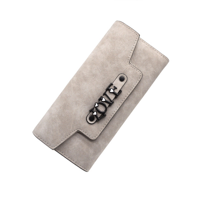 Letter Leather Wallets  2