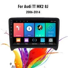 Eastereggs Cho Xe Audi TT 2 8J 2006 2014 2 Din 9 Inch Android 9.1 Radio Đa Phương Tiện Video WIFI Dẫn Đường GPS Đầu Đơn Vị