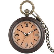 Buy 2019 New Ebony Bronz Pocket Watches Necklacee Men Quartz Pendant Watch With Chain Women Gift relojes de bolsillo para hombre directly from merchant!