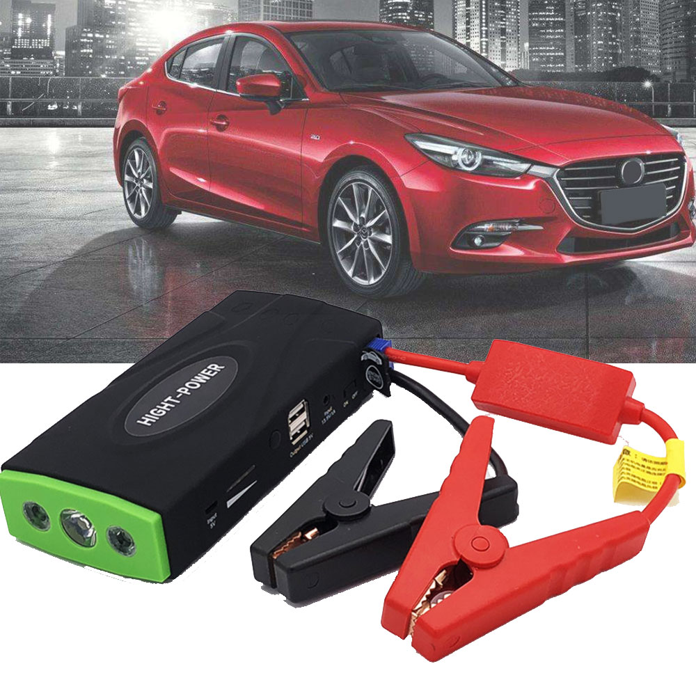 Portable High Capacity Car Jump Starter Battery Power Bank Starting Device Car Battery Charger Booster 600A 12V 16800mAh image