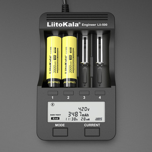 Image 5 - 1 20 قطعة LiitoKala Lii 35S جديد 18650 Battery3.7V ليثيوم أيون 3500mAh بطارية ليثيوم لأجهزة استنزاف عالية.