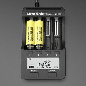 Image 5 - 1 20PCS LiitoKala Lii 35S 높은 드레인 장치에 대 한 새로운 18650 Battery3.7V 리튬 이온 3500mAh 리튬 배터리.