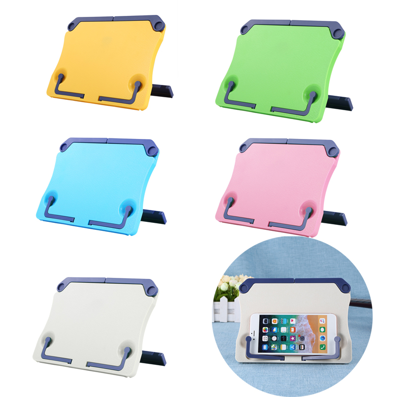 Portable Reading Support Stand Books Document Recipe Shelf Folding Music Scope Book Cookbook Tablet Holder Organizer Rest Rack