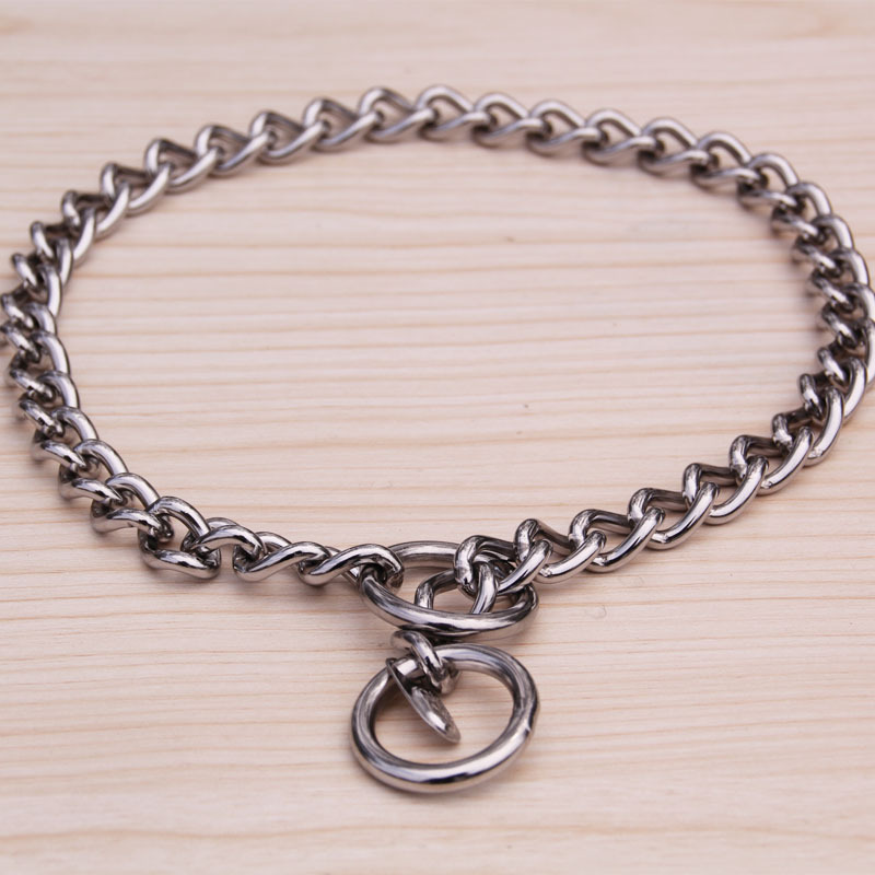 304 Stainless Steel P Pendant Stainless Steel Free Pendant Snake Chain Pet Chain P Pendant Dog Pendant Snake Chain