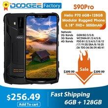Doogee S90 Pro Helio P70 Octa Core Del Telefono Mobile 6GB 128GB Modulare 6.18 FHD + Display IP68/IP69K 4G LTE smartphone Rugged