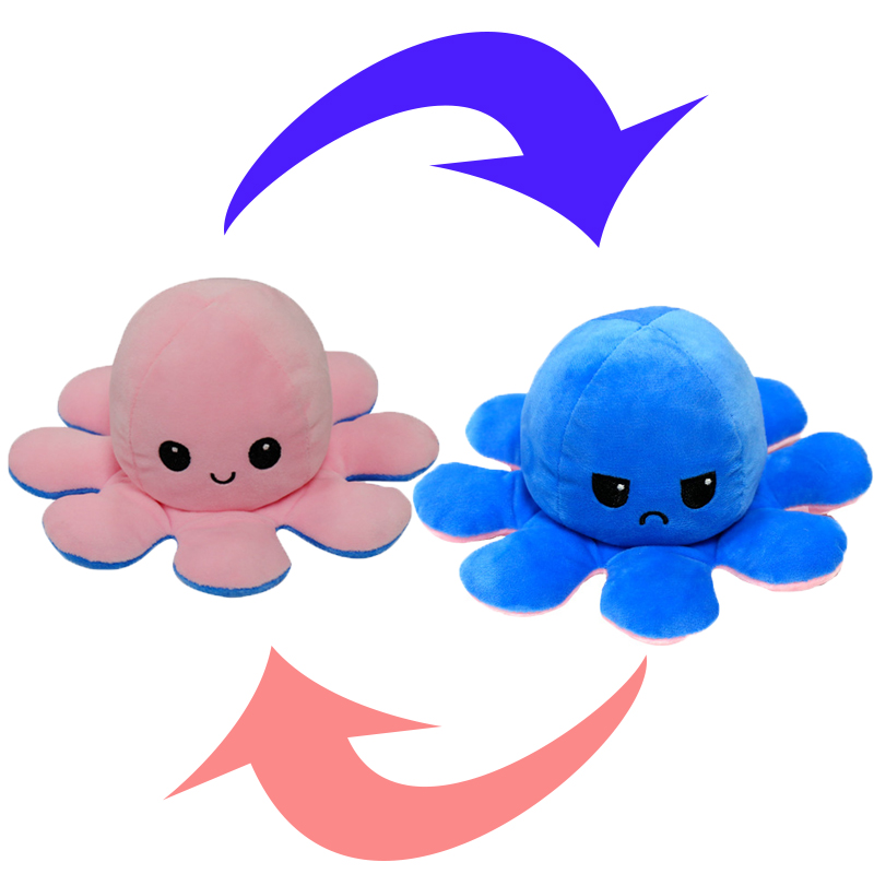 Reversible Octopus Stuffed Toy6