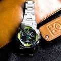 316L Нержавеющаясталь часы чехол и ремень для объектива с оптическими зумом Casio GA-100/110/120 GD-100/120 GLX-100 ремешок для часов для GW-9400 GX-56 GWX-56 чехол