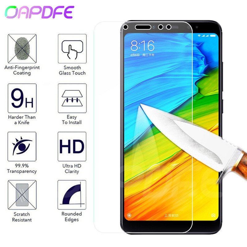 Protective Glass For Xiaomi Redmi 5 Plus 5A 4 4X 4A S2 Go K20 Tempered Screen Protector Glass On Redmi Note 4 4X 5 5A Pro Film