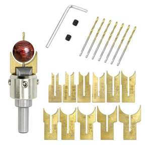 Newly Wooden Bead Maker Beads Drill Bit Milling Cutter Set Woodworking Tool Kit