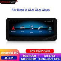 1920*720 IPS 8-Core 4 + 64G Android 9 Auto radio GPS navigation für Mercedes Benz A w176 CLA C117 X117 GLA X156 mit WIFI BT 4G