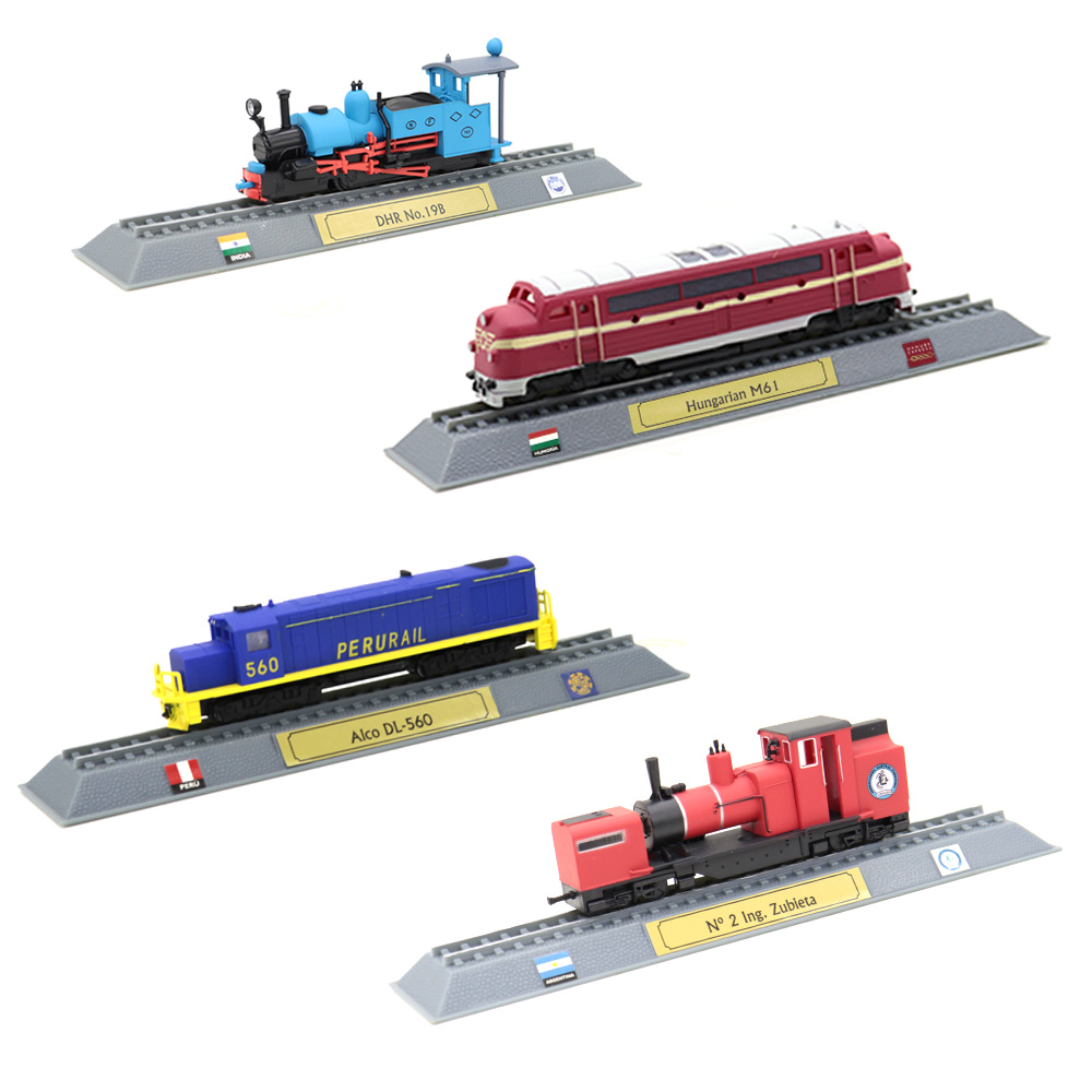 N Scale Alloy Train Toy Locomotive Model Collection Ornaments Home Furnishings Steam Internal Combustion Engine Toy Train