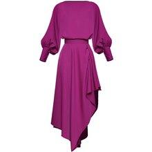 Red RoosaRosee Дизайнерская Женская винтажная блуза с длинным рукавом-фонариком+ юбка с оборками, модный костюм, Осенние вечерние комплекты из 2 предметов