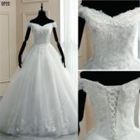 8 Layers Luxury Beading Beautifull Wedding Dress fo 2020 Wedding Lace Boat Neck Embroidery Appliques Elegant Vestido De Noiva