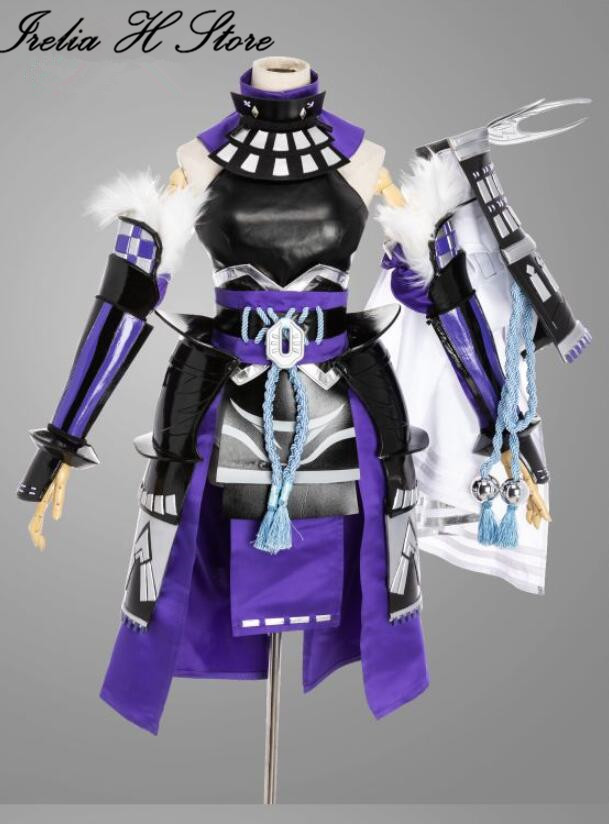 New skin Game Onmyoji Cosplays Costume SP Youtouhime Demon knife girl Cosplay costume with props Full set  Halloween costumes 1