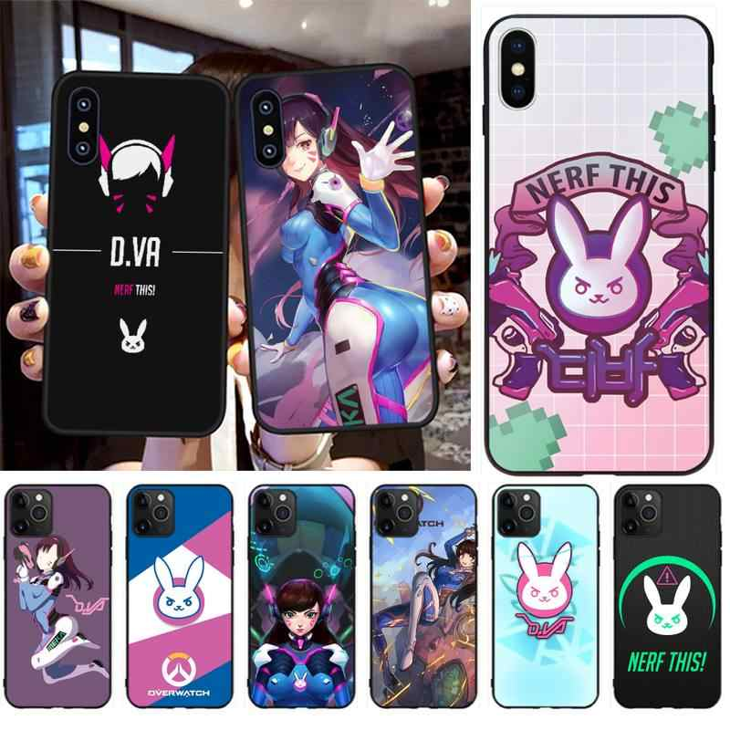 Inspired by Overwatch phone case Overwatch iPhone case 7 plus X XR XS Max 8 6 6s 5 5s se characters game