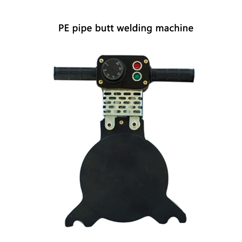 160 Manual PE Pipe Butt Welding Machine Hot Melt Machine Hand-crank Manual Heating Plate Accessories Butt Welding Machine