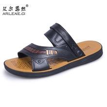 New Summer Beach Sandals Non-slip Slippers Men High Quality Outdoor Wear-resistant Slide Sandals Beach Shoes Sandalias Hombre