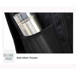 Image 5 - Мужской Дорожный рюкзак для ноутбука, черная водонепроницаемая сумка на плечо, школьный ранец для деловых поездок, 2020