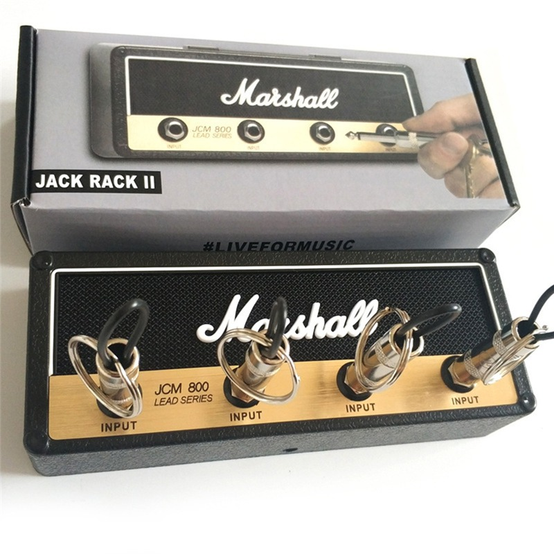 Original Marshall Jack II Rack Amp Vintage Guitar Amplifier Key Holder Jack Rack Marshall JCM800 Marshall Key Holder