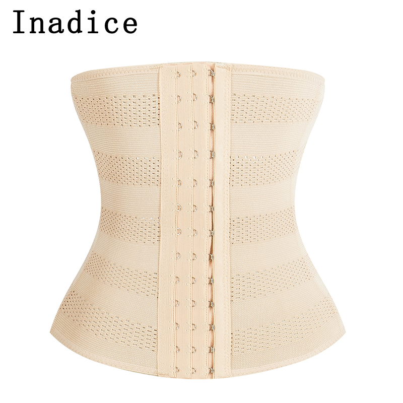 Inadice Polyester Elegant Corset Belt Wide Belt Solid Elastic Belt Men Slimming Belt Luxury Women Cummerbunds 2019 Clothing