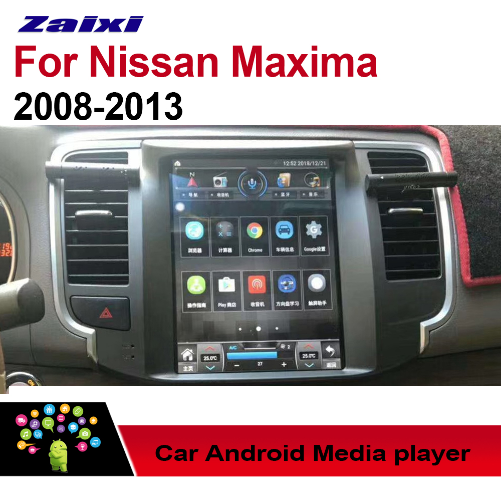Automobile Multimedia Android Car Player for Nissan Maxima 2008~2013 GPS Display Screen Navigation system Stereo Radio 2 Din image