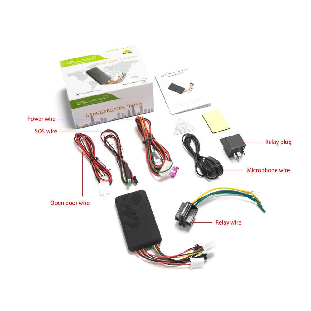 2019 gps трекер Автомобильный gps приемник в режиме реального времени GSM GPRS отслеживающее устройство для автомобиля Мотоцикл Велосипед