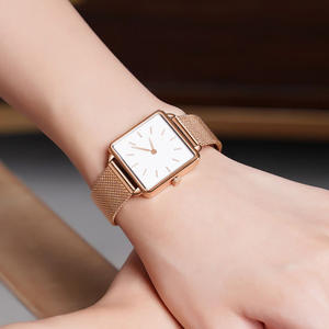 Bracelet Watches Clock Casual Dress Stainless-Steel Luxury Designer Fashion Ladies Brand Women