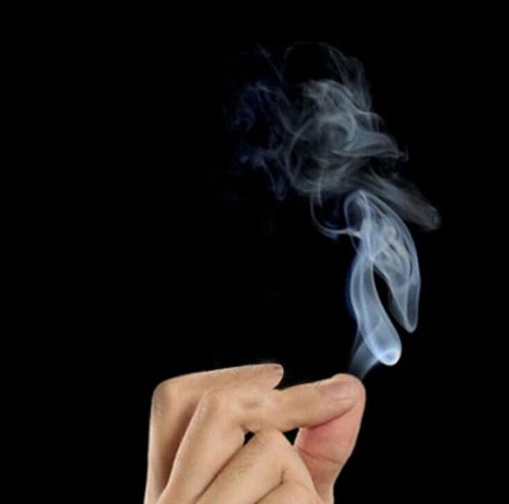 Magic Smoke From Finger Tips Magic Trick Surprise Prank Joke Mystical Fun Party Supply Male Toy