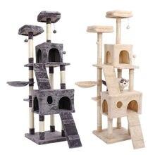 Speedy Pet wielofunkcyjne krzesło kreatywna kostka dom z drapaniem wyjmowana podkładka poduszki aktywność zwierząt drzewo kota z piłką