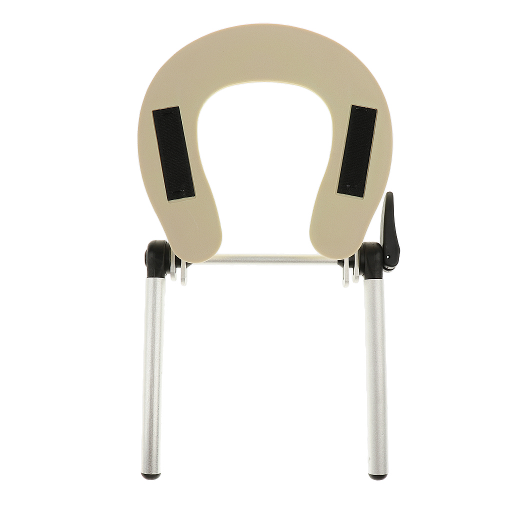 Aluminum Alloy And ABS Face Cradle Cushion Holder, Adjustable Headrest Platform Assembly Stand For Massage Tables Beds