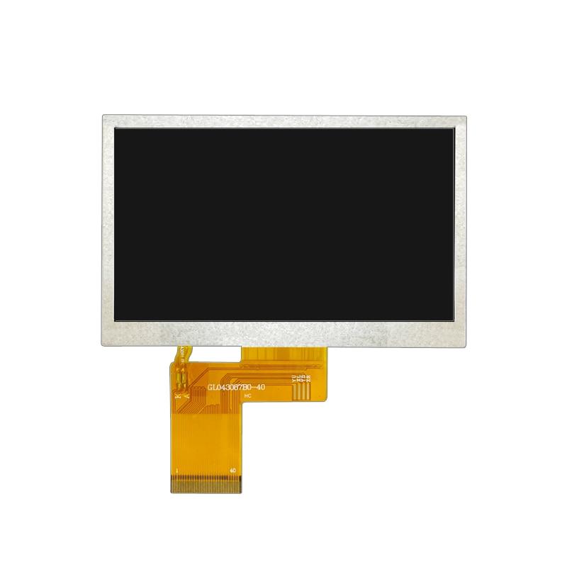 4.3 Inch TFT LCD Display Common Screen (TP/No TP) GL04303600-40 GL043056B0-40 ZNL043T702-P40 480(RGB)*272