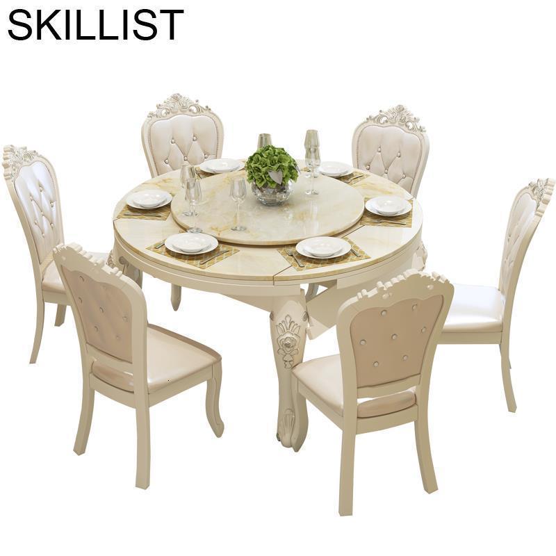 Redonda Eet Tafel Juego Set Salle A Manger Moderne Tisch Sala Wood European Tablo De Jantar Mesa Comedor Desk Dining Room Table