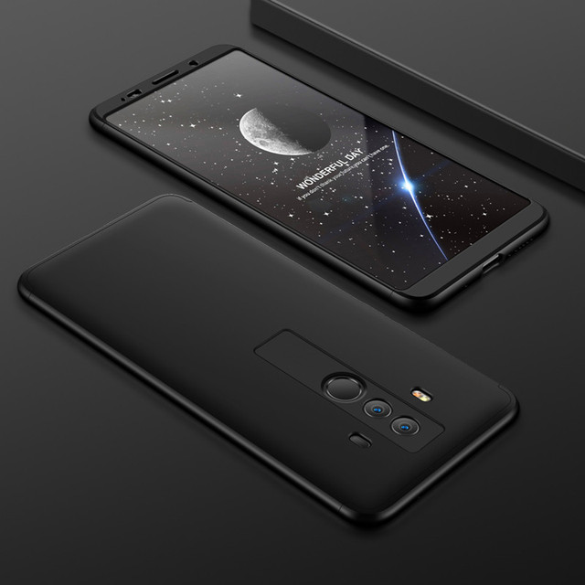 Coque Huawei Mate 9 Lite BLL L23 360 Protection coque intégrale mat rigide téléphone étui pour Huawei Mate 9 MHA L09 L29 Film écran