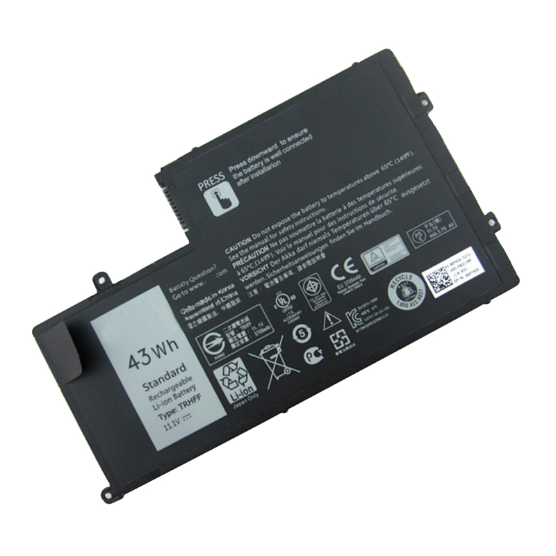 TRHFF 3800mAh New Laptop Battery For DELL Inspiron 5547 5545 5548 5447 5445 5448 14-5447 15-5547 3450 3550 11.1V 43Wh
